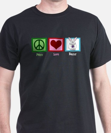 Peace Love Easter T-Shirt