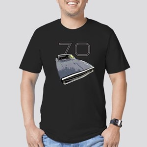 1970 Charger Men's Fitted T-Shirt (dark)