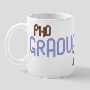 PhD Graduate 2011 (Retro Purple) Mug