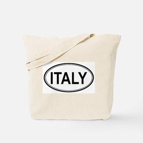 Italy Euro Tote Bag