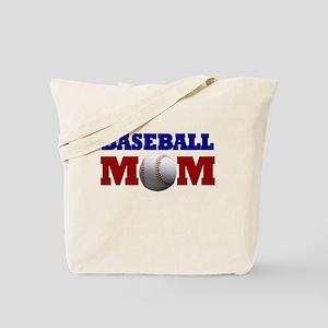 Baseball Mom: Tote Bag