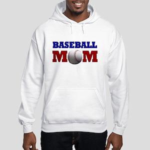 Baseball Mom: Hooded Sweatshirt