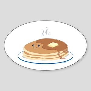 Breakfast Time Sticker (Oval)