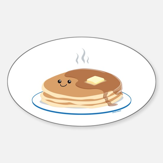 Breakfast Time Sticker (Oval)