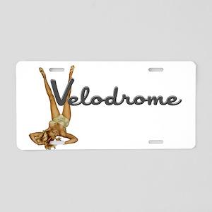 Velodrome Aluminum License Plate