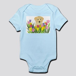 Golden Retriever Infant Creeper
