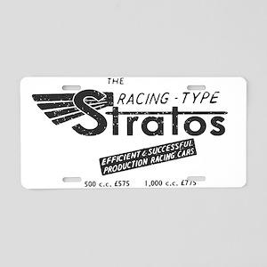 Stratos Aluminum License Plate