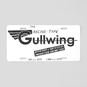 Gullwing Aluminum License Plate