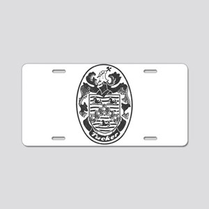 Tucker Aluminum License Plate