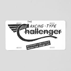 Challenger Vintage Aluminum License Plate