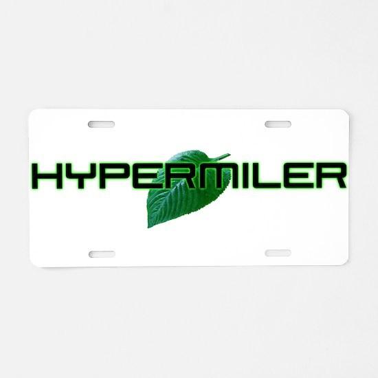 Hipermiler Aluminum License Plate