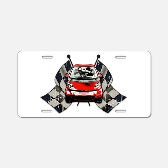 Smart Style Aluminum License Plate