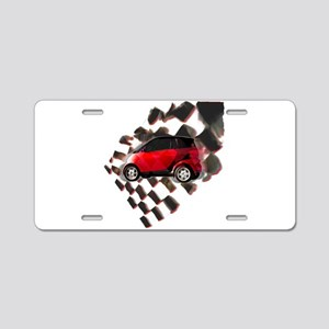 Fit Moto Aluminum License Plate