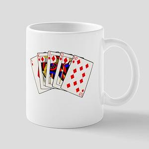 Diamond's Royal Flush Mug
