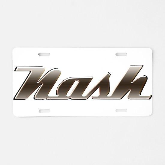 Nash Automobiles Aluminum License Plate