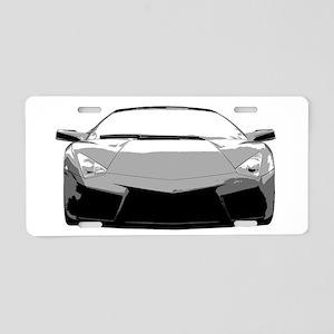 Lambo Reventon Aluminum License Plate