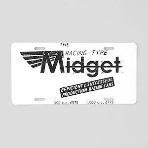 MG Vintage Aluminum License Plate