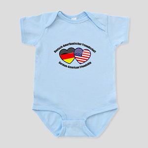 German-American Friendship Infant Bodysuit