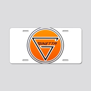 Ginetta Aluminum License Plate