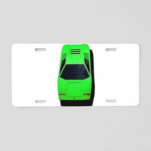 Lambo Aluminum License Plate