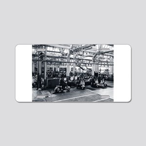 Scooter Factory Aluminum License Plate
