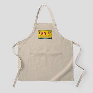 """""""SANTA FE"""" New Mexico License Plate Apron"""