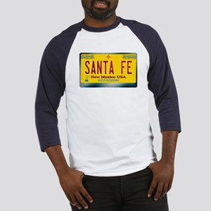 """SANTA FE"" New Mexico License Plate Baseball Jerse"