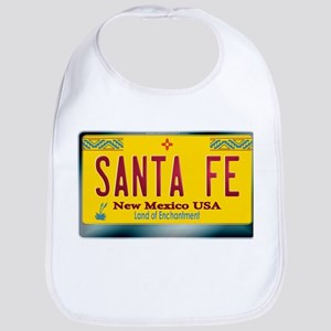 """SANTA FE"" New Mexico License Plate Bib"