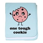 One Tough Cookie baby blanket