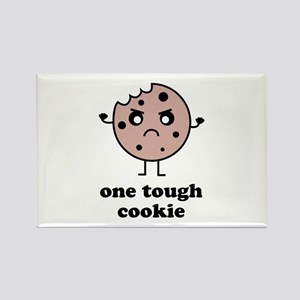One Tough Cookie Rectangle Magnet