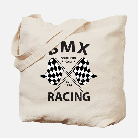 Vintage BMX Racing Tote Bag