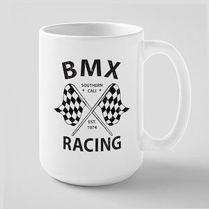 Vintage BMX Racing Large Mug