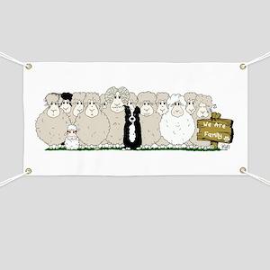 Sheep Family Banner