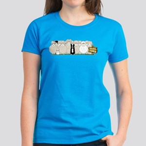 Sheep Family Women's Dark T-Shirt
