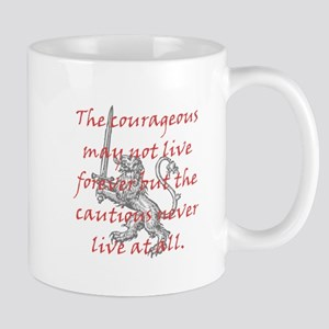 Lion Sword Courageous Mug