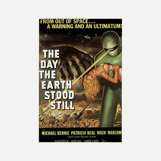 The Day the Earth Stood Still Sci Fi Film Magnet