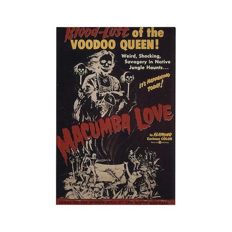 Macumba Love VooDoo Queen Film Poster Magnet