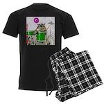 Drums Men's Dark Pajamas