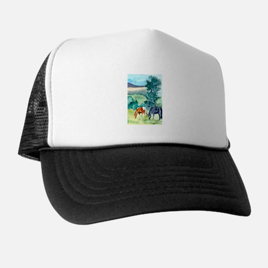Pleasant Day Trucker Hat