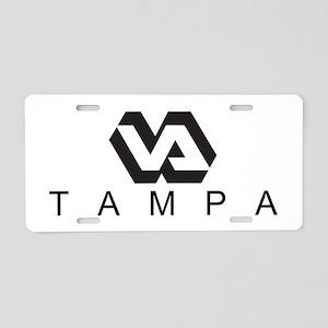 V.A. Aluminum License Plate