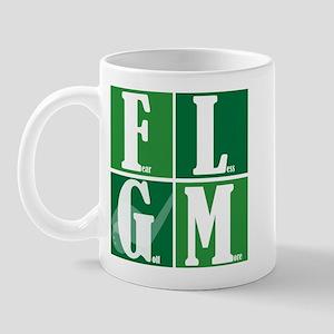 Fear Less Golf More Mug