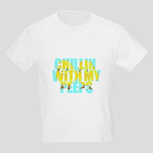 Chillin With My Peeps Kids Light T-Shirt