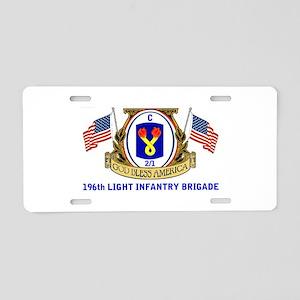 C COMPANY Aluminum License Plate