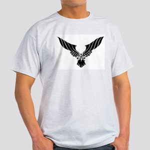 Raven Illustration Light T-Shirt
