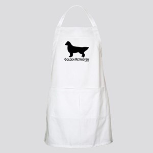 Golden Retriever Silhouette Apron