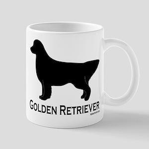 Golden Retriever Silhouette Mug
