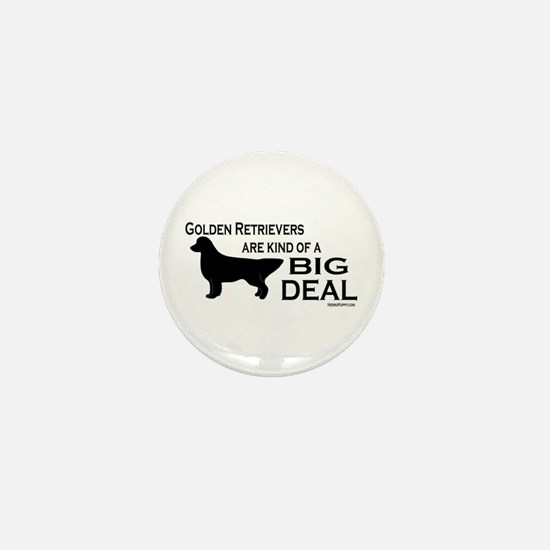 Big Deal - Golden Retriever Mini Button