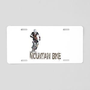 Mountain Bike Left Aluminum License Plate