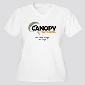 Canopy: Women's Plus Size V-Neck T-Shirt