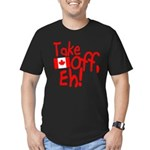 Take Off, Eh! Men's Fitted T-Shirt (dark)